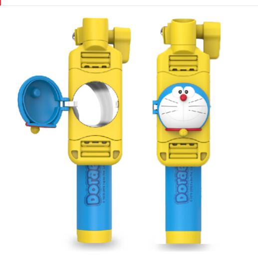 ROCK Locke (ROCK) Doraemon mini gậy hỗ trợ tự chụp ảnh Ðức Chúa trời điện thoại thiết bị Apple iPhon