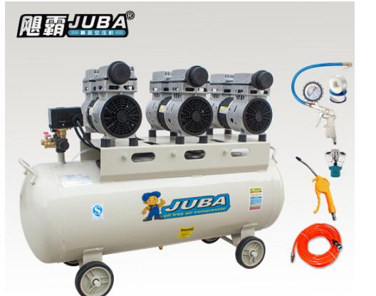 JUBA bá 265 câm vô dầu toàn đồng trống báo chí 800wx3 động cơ máy nén khí 2400W 80L 220V đưa 5 mảnh