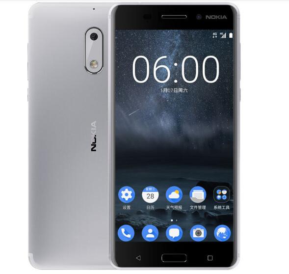 Nokia (NOKIA) Nokia 6 (Nokia6) là điện thoại di động Bạc Edition (4GB +64GB)