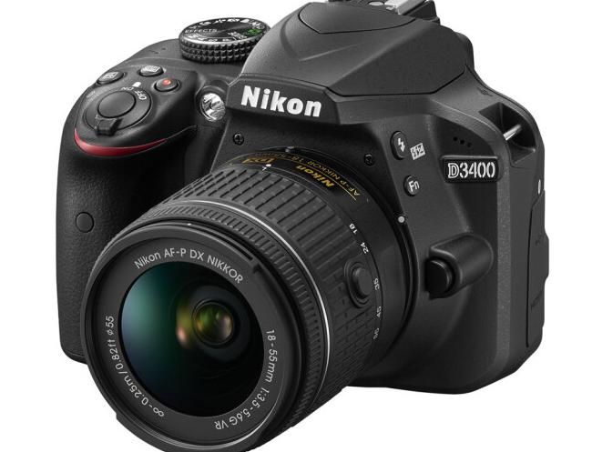 Nikon Nikon (Nikon) D3400 vào cửa camera (AF-P DX 18-55mm f/3.5-5.6G VR chống rung máy)