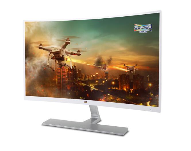 ViewSonic Máy tính màn hình ViewSonic (ViewSonic) 23.6 inch màn hình VX2416-SCHD-W-PRO bề mặt ăn gà