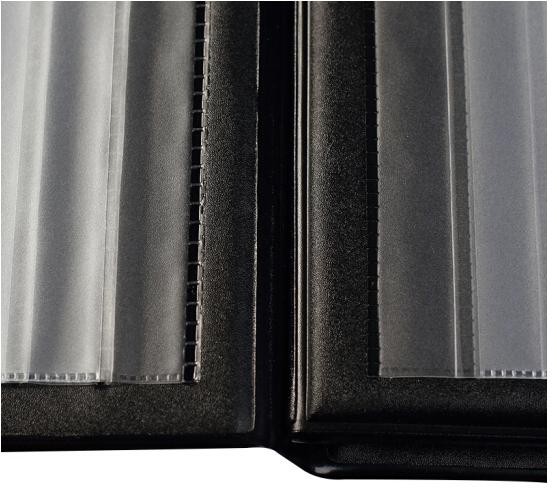COMIX Da PVC Đồng Tâm (Comix) NC288 callosa 288 quả màu đen than danh thiếp.