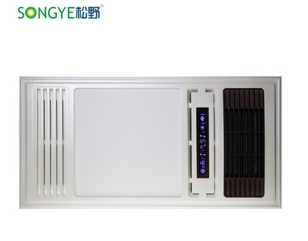 SONGYE SONGYE tích hợp gốm sứ PTC gió ấm nhiệt thông minh hiện có nhiều khả năng hàng quạt đèn LED n