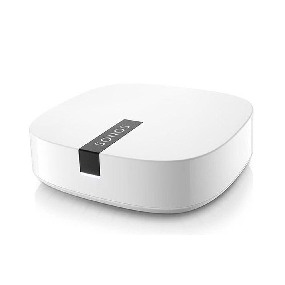 Modom  Wifi    SONOS lục BOOST HiFi phụ kiện hệ thống âm thanh không dây màu trắng.