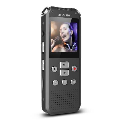 Amoi (Amoi) A82 quay phim ghi âm chuyên nghiệp 720P máy video độ nét cao bút nhỏ màu đen 16G Memory