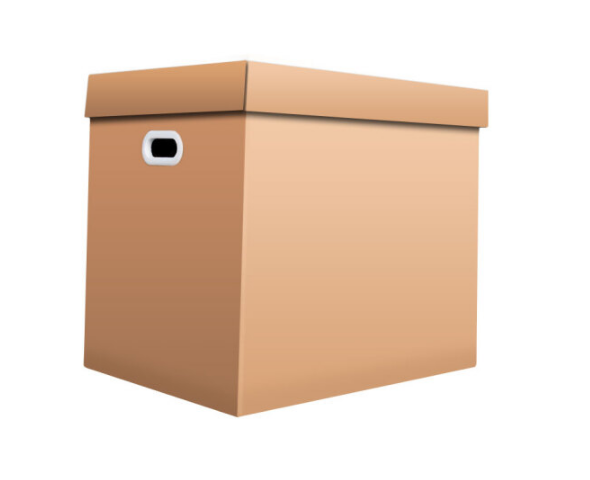 QDZX QDZX chuyển vào thùng 55*40*50cm trời đất bìa lấy hộp băng giấy vệ sinh nơi tiếp nhận vào thùng