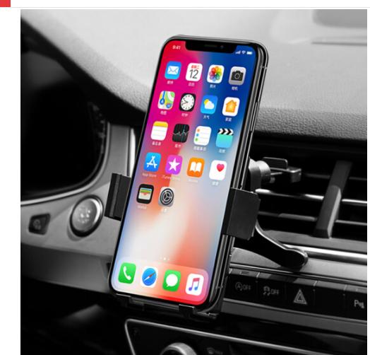 TIEMOTU Thiết (TIEMOTU) CZZJ102D khung xe ô tô điện thoại đen Táo Tháo nước áp dụng thiết bị dẫn đườ