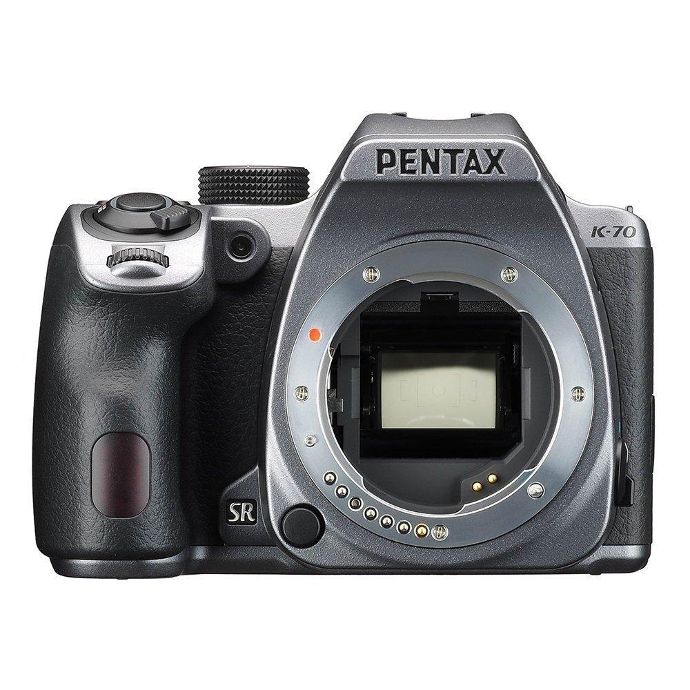 Pentax/ K-70 camera kỹ thuật số K70 bạc mũi máy bay.