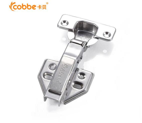 cobbe (cobbe) 304 thép không gỉ tủ quần áo bay thẳng cong khớp bản lề = cả bìa chỉ nạp