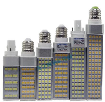 BUBUNIU Cả cắm đèn dẫn hoành Hoành Suối nguồn LED Ngô Bảo vệ mắt bóng đèn E27 ốc miệng G24 hai kim G