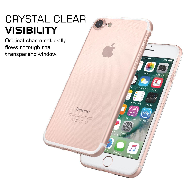 MoKo Mỹ MoKo Apple iPhone 7 chiếc điện thoại di động hệ vỏ bảo vệ vỏ iPhone7 khinh bạc trong suốt TP