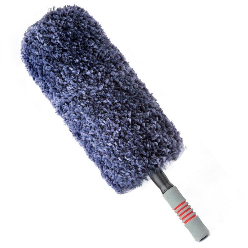 Carsetcity Thẻ Carsetcity sợi nano có thể thu trang trí xã chổi lông gà sau các công cụ bảo dưỡng xe