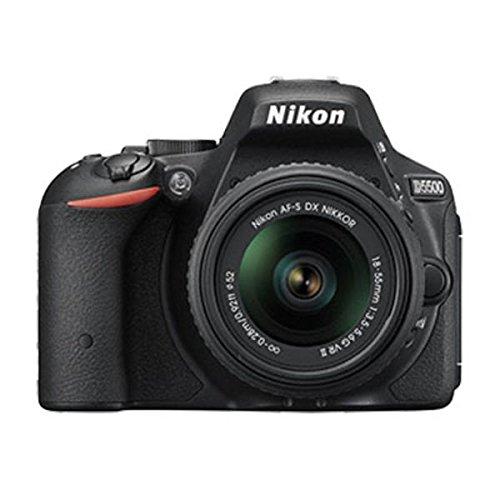 Máy ảnh kỹ thuật số  Nikon D5500 24.2 MP máy ảnh kỹ thuật số, da đen AFS dx + 18 - 55 g VRII + Sách