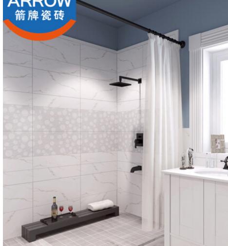 ARROW bếp nhà vệ sinh tường gạch tráng men ngày ban công mảnh ghép AW63710R sạch cát 10 vùng giá 300