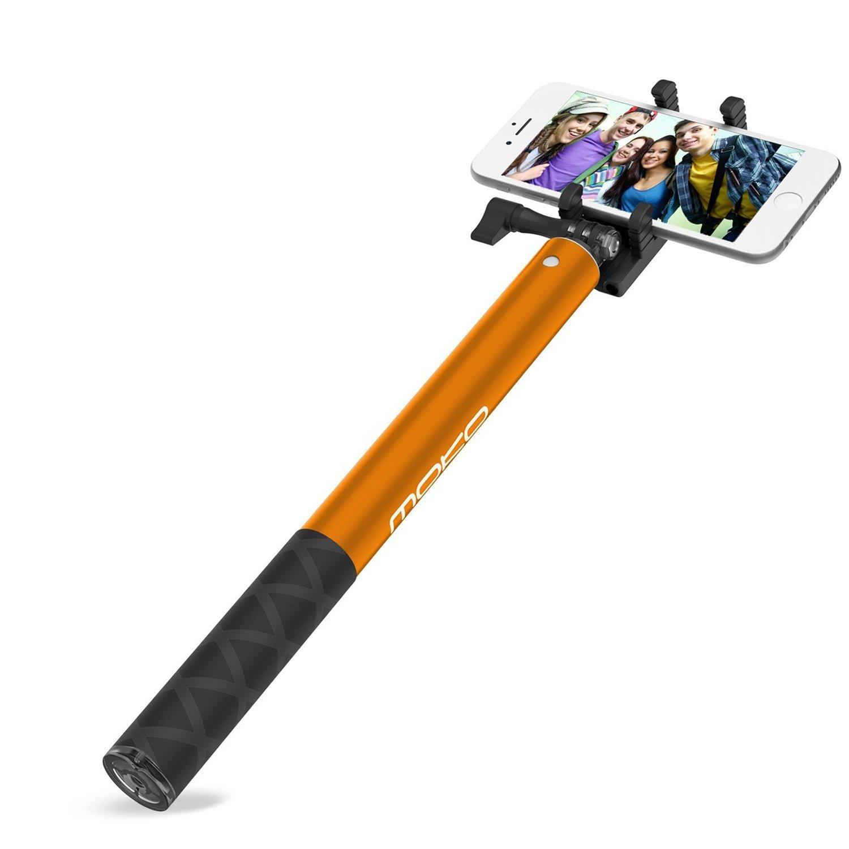 MoKo    Mỹ MoKo Bluetooth gậy hỗ trợ tự chụp ảnh Apple iPhone Plus X / 8 / 8 / Huawei Mate9 / Samsun