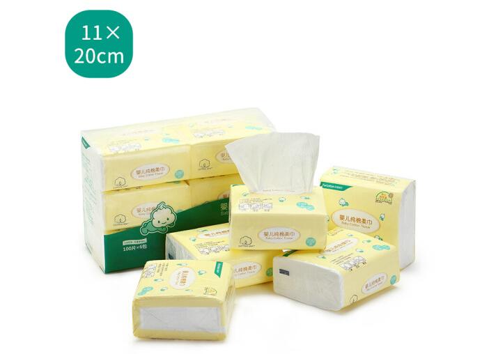 PurCotton 148cm Thời (PurCotton) Bé bông được cân / hút giấy được cân 11*20cm khăn giấy gói / 6.