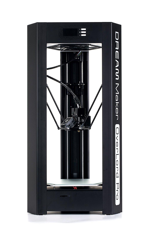 DreamMaker Overlord Pro edition in màn hình máy in 3D độ chính xác cao (đen)