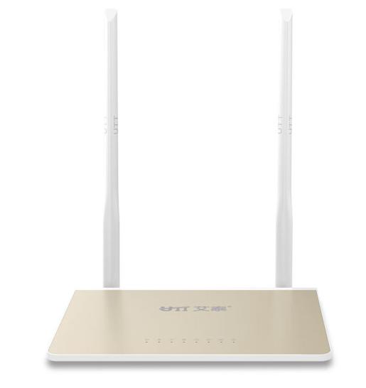 UTT (UTT) (UTT) A310W 300M gia dụng thông minh không dây tín hiệu WiFi router tiếp vua đại gia vàng