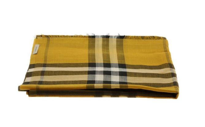 BURBERRY Trộn Burberry BURBERRY trở lông sọc 3931696 lưới khăn quàng cổ điển pha trộn