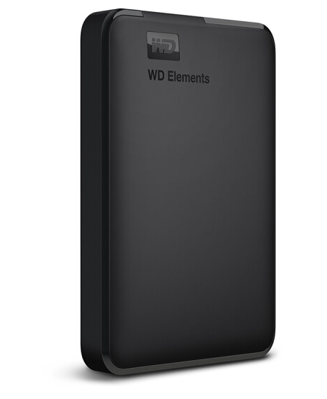 WD Dữ liệu về phía Tây (WD) Elements series 2,5 inch USB3.0 ổ cứng di động 1TB (WDBUZG0010BBK)