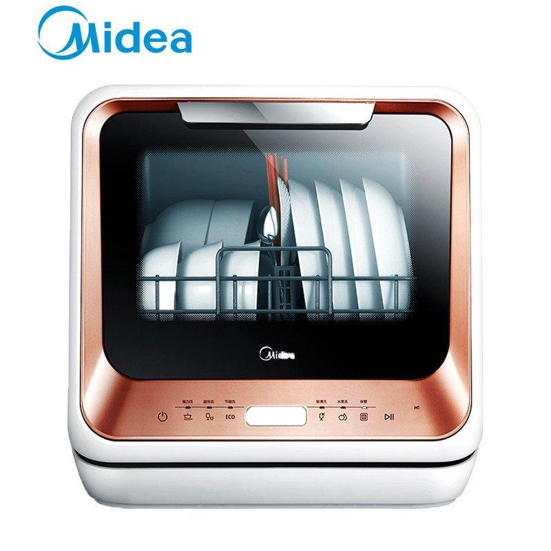 Máy rửa chén   Vẻ đẹp của Midea/ rửa bát M1 gia dụng miễn cài đặt tự động hoàn toàn sạch và khô. mi