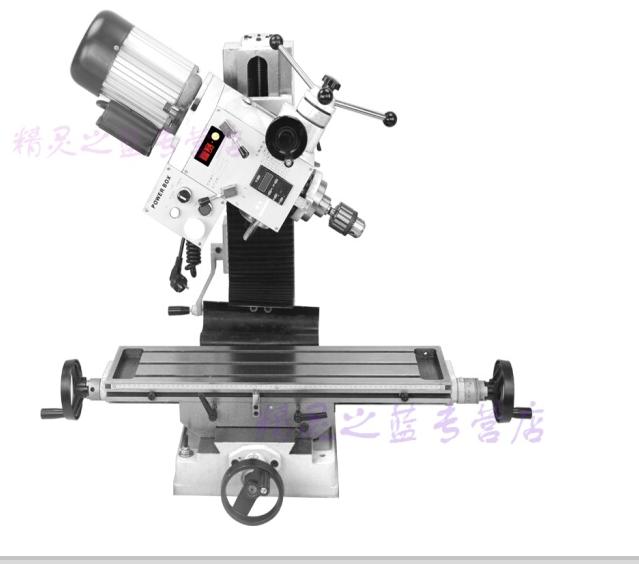JIASHIFA 32mm khoan phay đa năng hạng nặng máy khoan phay một độ chính xác cao FS-32V loại máy chế b