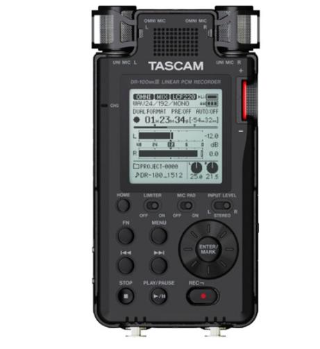 TASCAM Tiến sĩ Tascam 100mkiii PCM 192kHz res máy ghi âm tiếng Trung Quốc của số thực đơn vi phim bă
