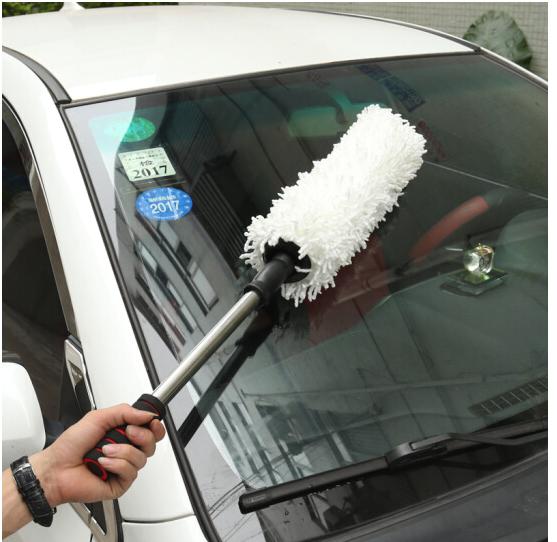 Shangxiang Loại xe kéo dài sáp sáp khoản sáp đánh sáp chải sáp sau bụi phủ