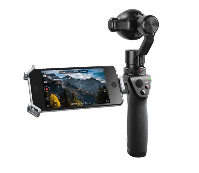 DJI Vân Đài Đại Cương (DJI) với camera linh OSMO+ Haeundae. Thế hệ mới nhất thể loại tay cầm máy ảnh