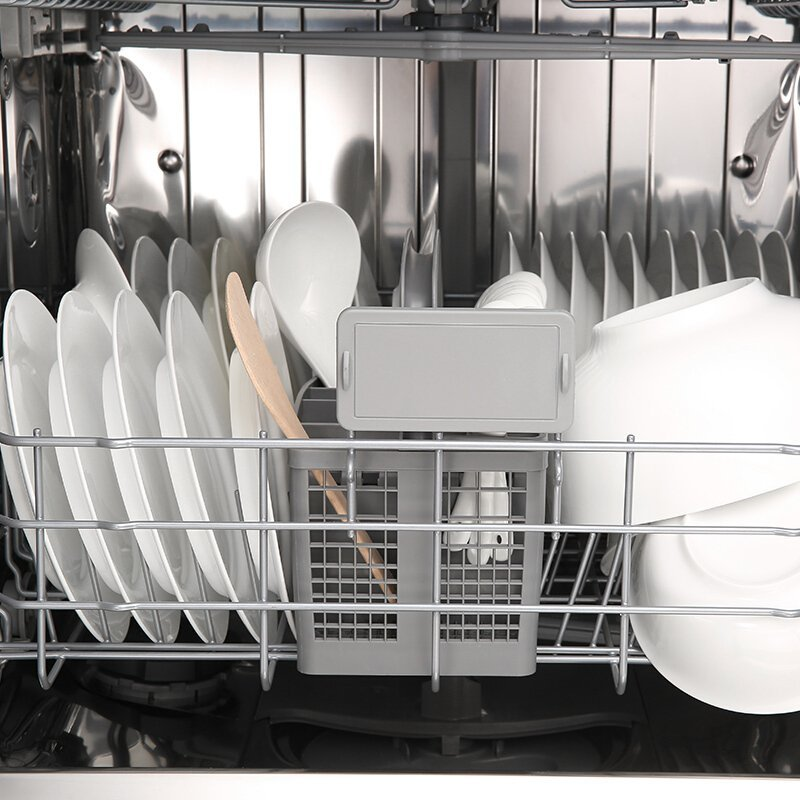 Máy rửa chén   Chủ ROBAM nhúng tự động hoàn toàn. Nhà máy rửa chén WQP12-W710 thể mở chuyên hóa đơn