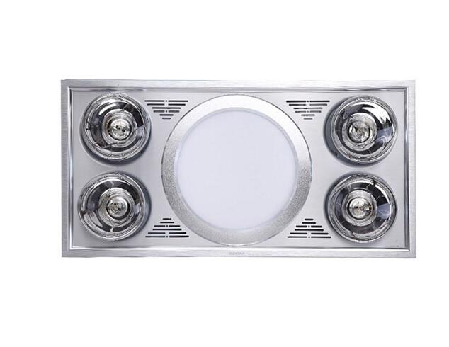 HONYAR Ngỗng thiên nga (HONYAR) DZHZ11-B01 tích hợp đèn bốn đèn ấm ba 300*600 cỡ lớn.