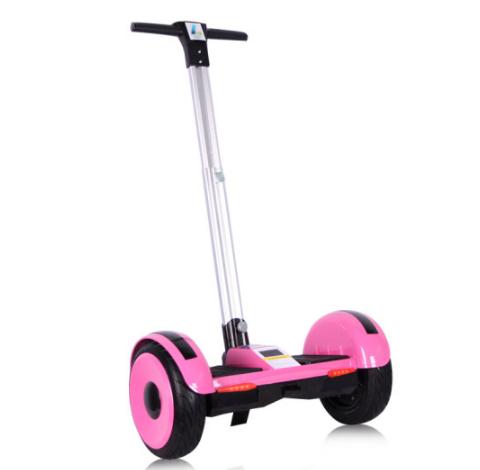 Xe điện 2 bánh tự cân bằng có tay lái GOOCIMI màu hồng