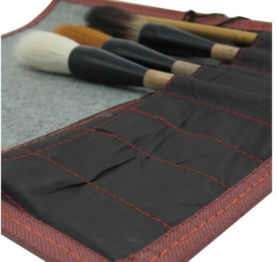 wuyouwuyu Bao bì lưu trữ quần áo Ngự mục bút lông rèm bút lông cirrosa xách tay thu nạp rèm bút túi