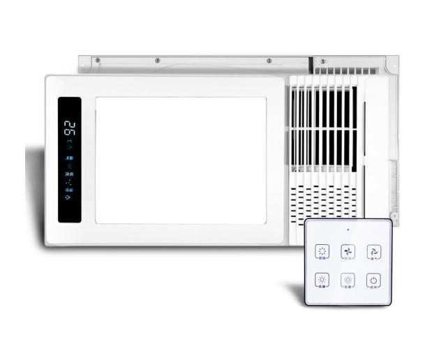 CDN Si - Đôn, CDN JD605Z gió ấm tích hợp điều khiển vô tuyến thông minh cài đặt