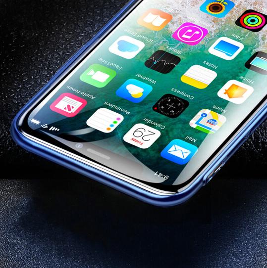 Baseus Điện thoại di động lần Tư (Baseus), táo iPhoneX 6D thuỷ tinh công nghiệp điện thoại bảo vệ to