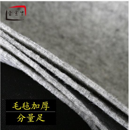zhongxuantang Vải Dệt vải gia đình Chữ 240*120CM painting nỉ bút lông dày của thư pháp chữ đệm dày c