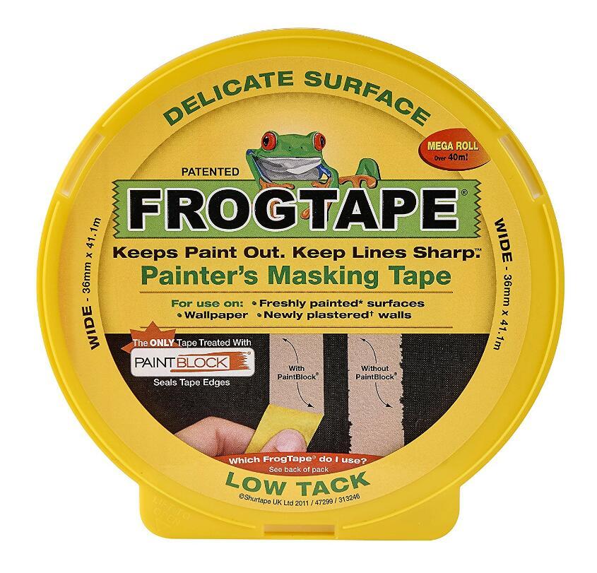 Thị trường phụ kiện máy móc  Ếch băng bề mặt của họa sĩ chặn đưa tinh tế - 36 mm x 41.1 mét.