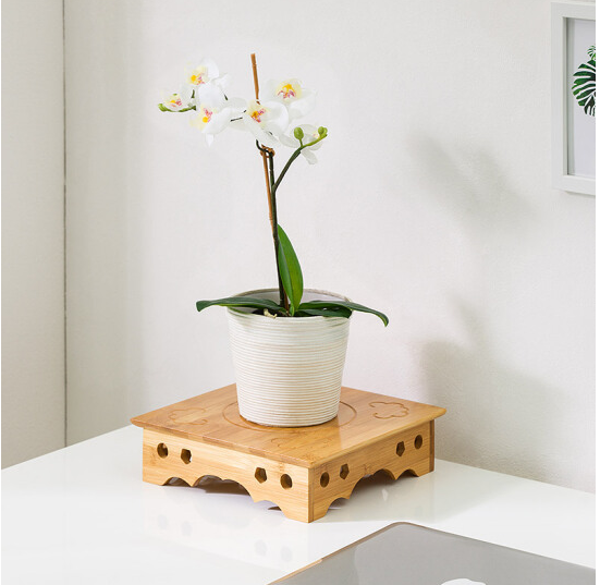 MUMAREN Trojan người (MUMAREN) sáng tạo màn hình giàn hoa chậu cây mọng nước vài khắc gỗ giá giàn ho