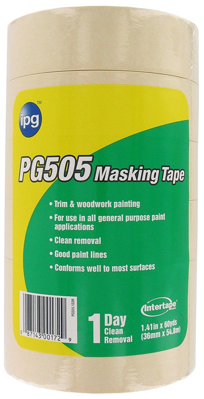 Thị trường phụ kiện máy móc  Pg505-36sl 1.41-inch 60 trận chuyên nghiệp băng dính, thiên nhiên, 6 gó