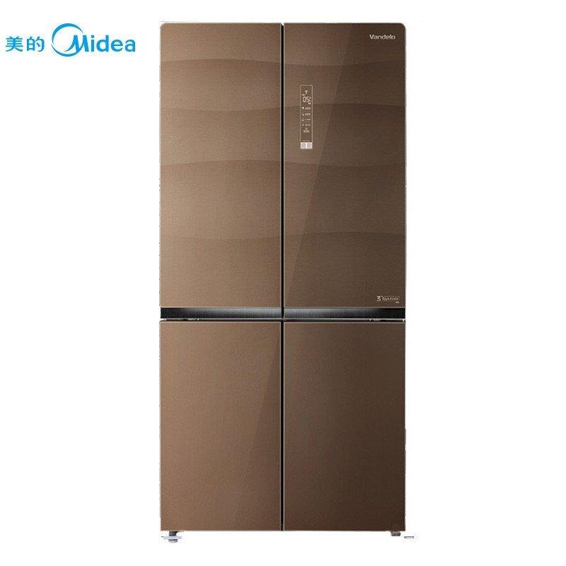 Midea BCD-646WGPZVA/WGPZV Ai Đế - lơ đẹp hơn 4 thập tự phải mở cửa cửa tủ lạnh không thay đổi tần số