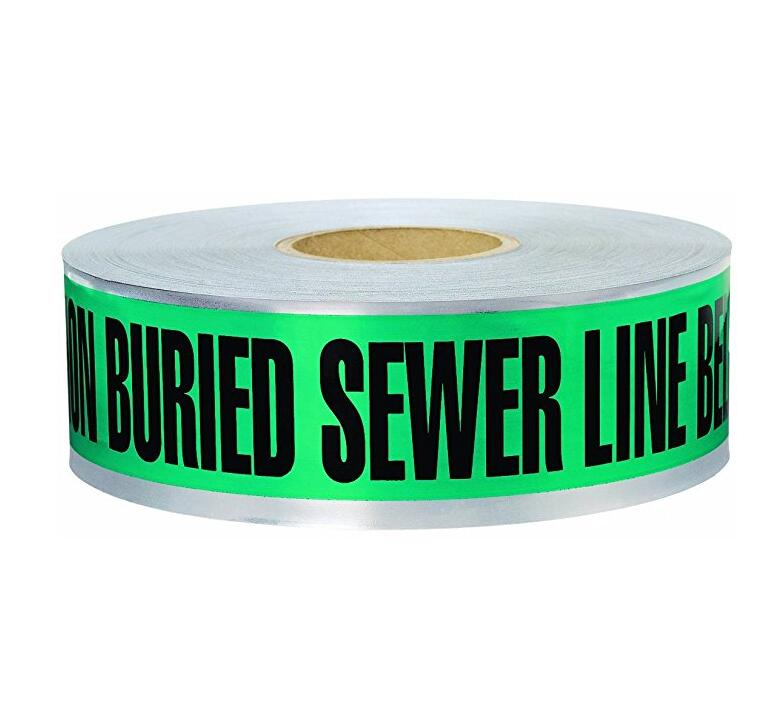 Swanson detg31005 1000 feet 3 cm × 5 Sewer thận trọng lượng với MIL chôn mang màu xanh / in đen tuyế