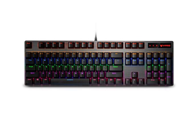 Rapoo (Rapoo) V500PRO Hỗn Bàn phím máy trò chơi ánh sáng ăn gà khuất bóng bàn phím trên bàn phím trê