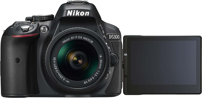 Nikon D kỹ thuật số 5300 – (24.2 camera MP, af-p 18 - 55 VR phát bộ) 2.0 inch màn hình và LCD