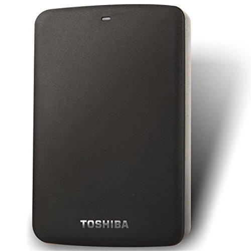 Ổ cứng di động   Toshiba (TOSHIBA) đen cứng series 1TB 2.5 inch mới USB3.0 ổ cứng di động (1T, đen)