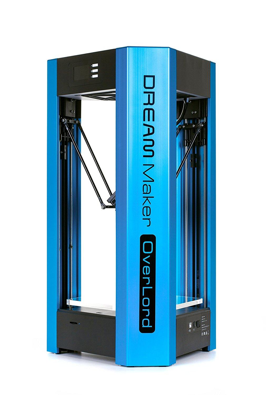 DreamMaker Overlord độ chính xác cao màn hình máy in 3D in (màu xanh).