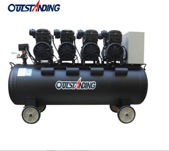 OUTSTANDING Oliver không lồi, dầu câm trống báo chí 4x1500W-160L large máy nén khí thổi bụi đánh máy