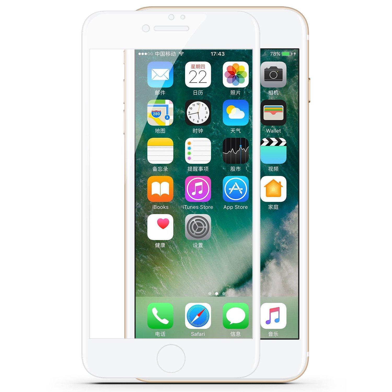 Vịnh iphone7 hoàn hảo toàn màn hình kính chống đạn. Màng màng thuỷ tinh công nghiệp táo 7 độ nét cao