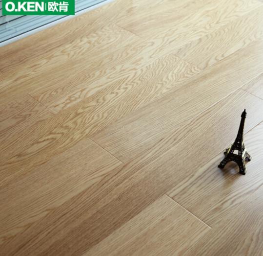 O.KEN   (O.KEN) sàn gỗ thật đấy tiền dày phức hợp sàn đỏ hải đường thời trang 15mm Geothermal bảo vệ