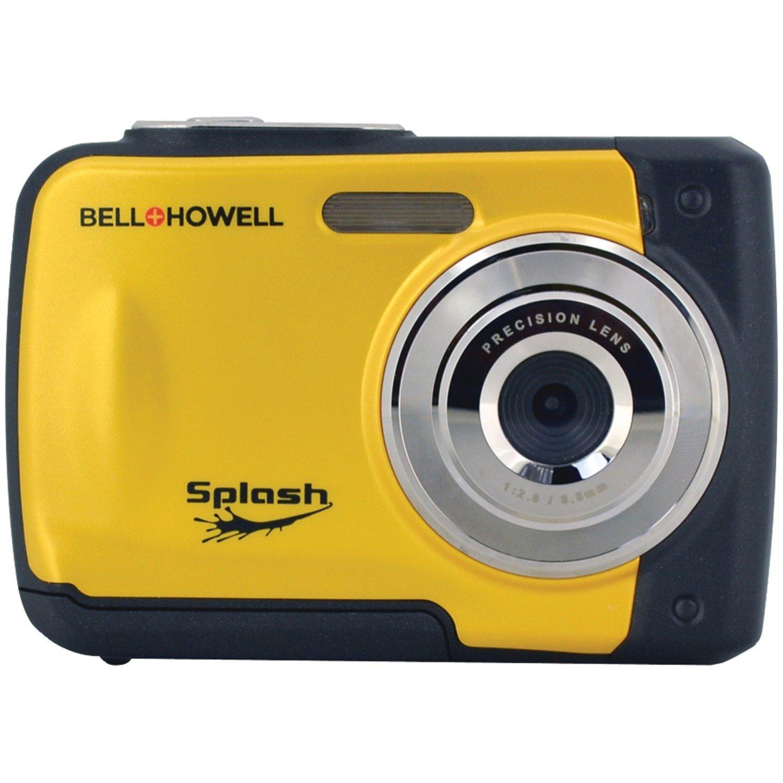 Bell & Howell    Rokinon SPLASH wp10-bl LCD 1.8 inch máy ảnh kỹ thuật số 12 không thấm nước