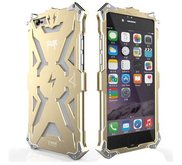 purecolor Vỏ kim loại nguyên chất chống ngã đấy. Họ có thể áp dụng cho điện thoại di động iPhone6s 6